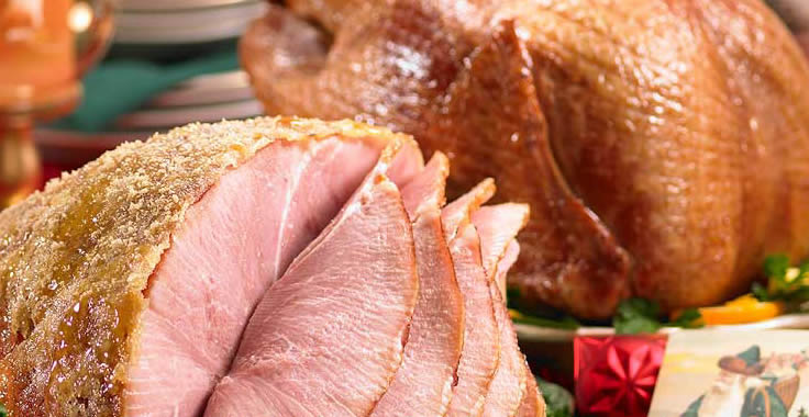 Ham and Turkey Menu