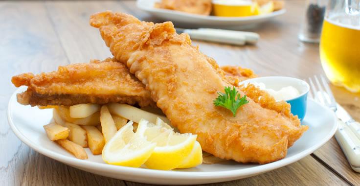 Fried Fish menu