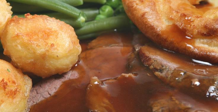 Roast Beef Menu